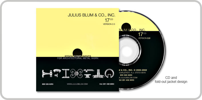 CD and fold-out jacket design