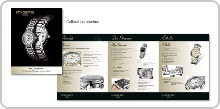 Collections brochure