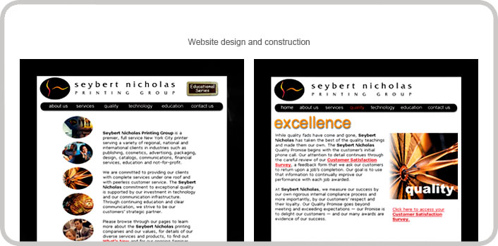 Website design & construction